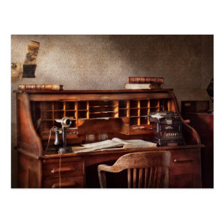 Carte Postale Comptable - cabinet comptable