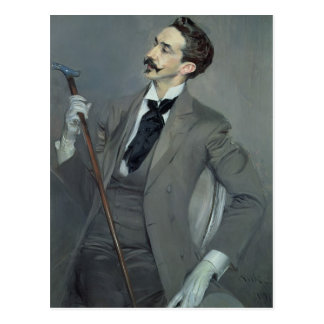 Carte Postale Compte Robert de Montesquiou 1897