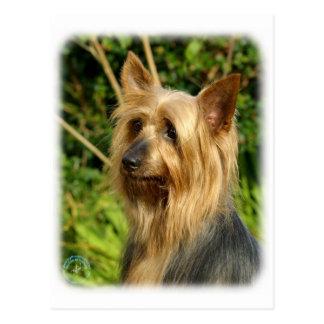 Carte Postale Conception australienne de Terrier soyeux