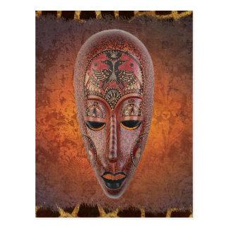 Carte Postale Conception Carte-Africaine pour toute l'occasion