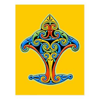Carte Postale Conception celtique