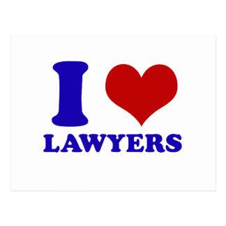 Carte Postale Conception d'avocats