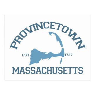 """Carte Postale Conception de """"fac"""" de Provincetown"""