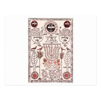Carte Postale Conception de Kabbalah