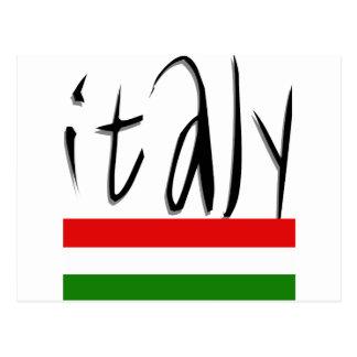 Carte Postale Conception de l'Italie !