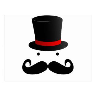 Carte Postale Conception de moustache