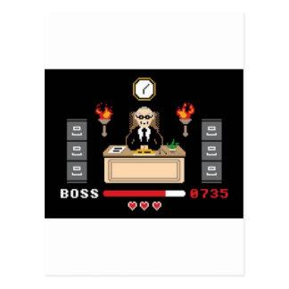 """Carte Postale Conception de """"patron"""" de pixel - GeekShirts"""