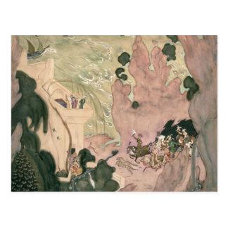 Carte Postale Conception de rideau pour Nikolai Rimski-Korsakov