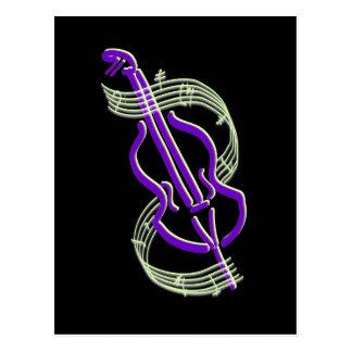 Carte Postale Conception de violoncelle