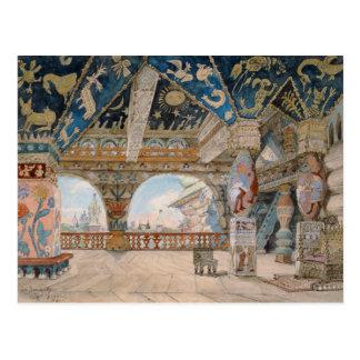 Carte Postale Conception d'étape pour l'opéra de Nikolai