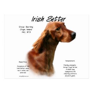 Carte Postale Conception d'histoire de poseur irlandais
