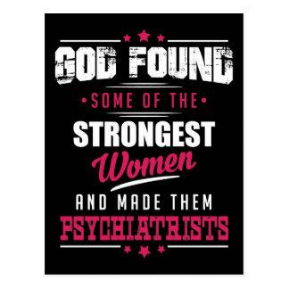Carte Postale Conception hilare de profession de psychiatres