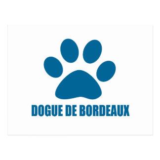 CARTE POSTALE CONCEPTIONS DE DOGUE DE BORDEAUX DOG