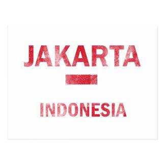 Carte Postale Conceptions de Jakarta Indonésie