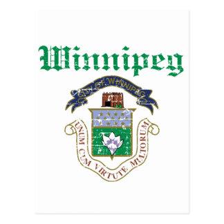 Carte Postale Conceptions de Winnipeg