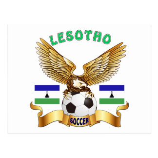 Carte Postale Conceptions du football du Lesotho
