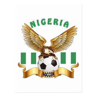 Carte Postale Conceptions du football du Nigéria