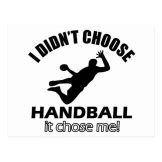 Carte Postale Conceptions fraîches de handball