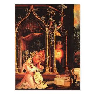 Carte Postale Concert de Matthias Grünewald- des anges