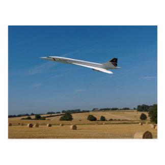 Carte Postale Concorde au temps de récolte