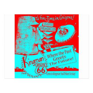 Carte Postale Conduisez le rouge étranger d'UFO Giganticus