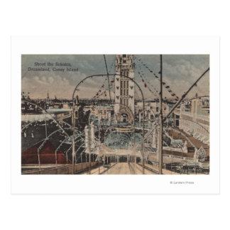 Carte Postale Coney Island, NY - tirez le tour de Schutes