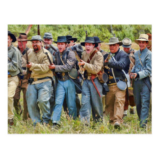 Carte postale confédérée de charge