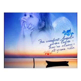 Carte Postale confort des anges