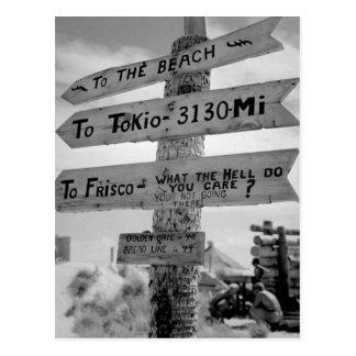 Carte Postale Connectez-vous Tarawa illustre l'image humor_War