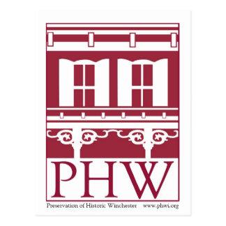Carte Postale Conservation de logo historique de Winchester
