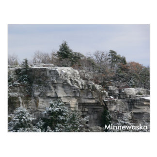 Carte Postale Conserve de parc d'état de Minnewaska