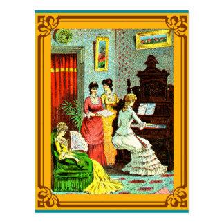 Carte Postale Considérant d'organe de Waterloo