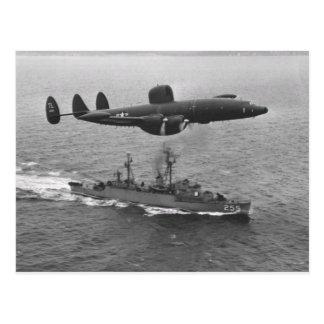 Carte Postale Constellation superbe de Lockheed WV-2