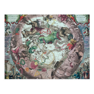 Carte Postale Constellations de l'hémisphère sud