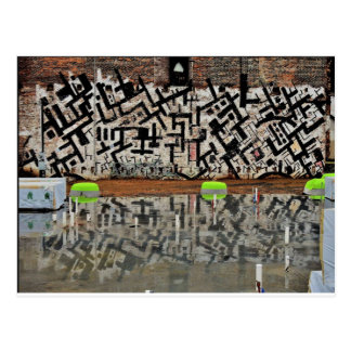 Carte Postale Construction des greniers au Capricorne