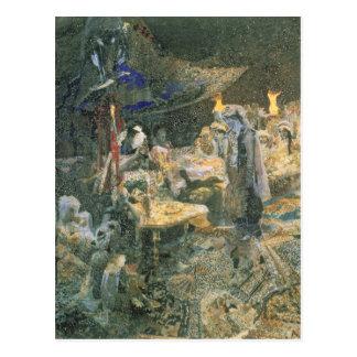 Carte Postale Conte oriental, 1886