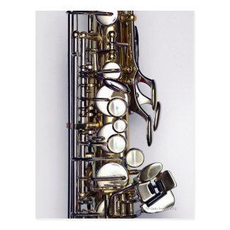 Carte Postale Contrôles de saxophone