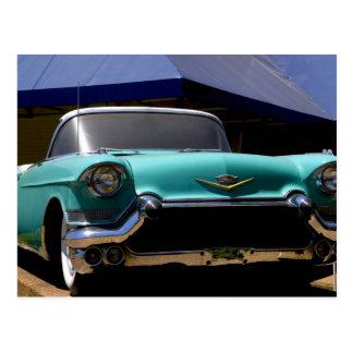 Carte Postale Convertible vert de Cadillac d'Elvis Presley