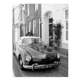 Carte Postale Copie classique d'art de voiture de Karmann Ghia