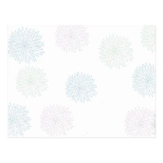 Carte Postale Copie de chrysanthème