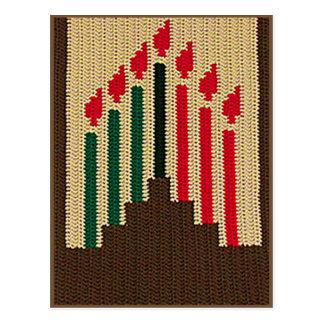 Carte Postale Copie naturelle de crochet de Brown Kinara de