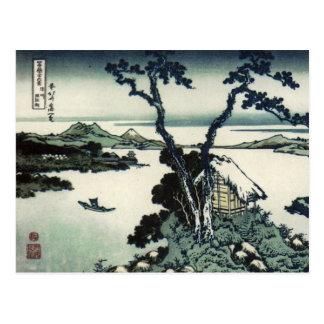 Carte Postale Copie vintage de Japonais par Hokusai