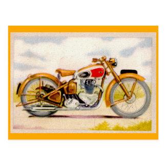 Carte Postale Copie vintage de moto