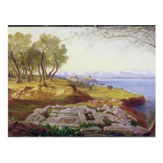 Carte Postale Corfou de l'ascension, c.1856-64 (huile sur la