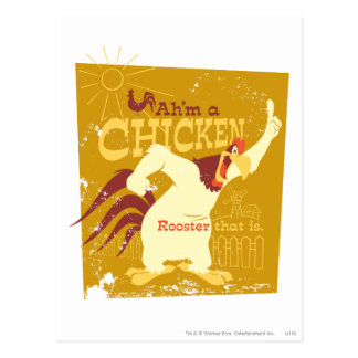 Carte Postale Corne de brume Ah'm un poulet