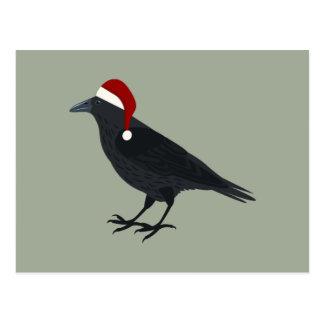 Carte Postale Corneille de Noël