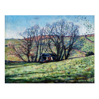 Carte Postale Corneilles se levant 2009