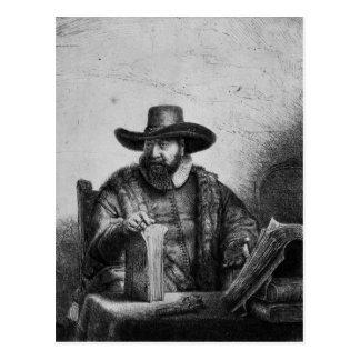 Carte Postale Cornélius Claesz Anslo 1640