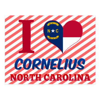 Carte Postale Cornélius, la Caroline du Nord