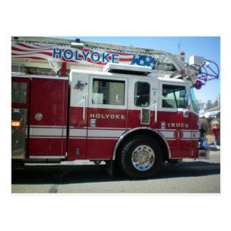 Carte Postale Corps de sapeurs-pompiers